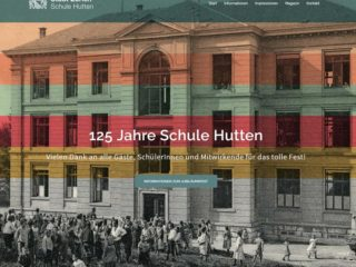 Schule Hutten Website